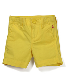 UCB Solid Colour Shorts - Yellow