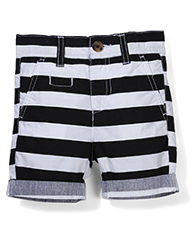 UCB Stripe Shorts - Black White