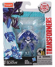 Funskool Transformers Rid Minicons Glacias Robot Toy - Blue