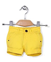 Vitamins Solid Colour Shorts - Yellow