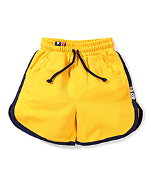 Spark Shorts With Drawstring - Yellow
