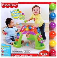 Fisher Price Stand Up Ballcano