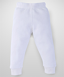 Babyhug Full Length Thermal Wear Legging - Off White