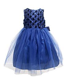 Cherubbaby Tutu With Roses - Blue
