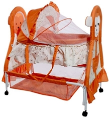 Baby Cradle - Orange