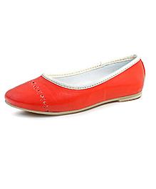 Beanz Belly Shoes - Orange
