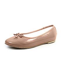 Beanz Slip-On Belly Shoes - Beige