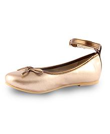 Beanz  Belly Shoes - Golden