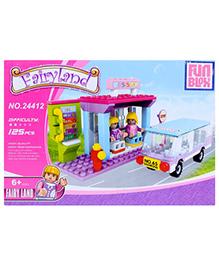 Fun Blox Fairyland Block Set Multicolor- 125 Pieces