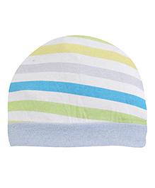 Ben Benny Stripes Bonnet Cap - Multicolor