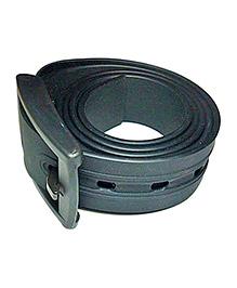 NeedyBee Unisex Resizable Silicone Scented Belt - Black