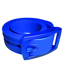 NeedyBee Unisex Resizable Silicone Scented Belt For Children - Blue