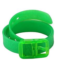 NeedyBee Unisex Resizable Silicone Scented Belt - Green
