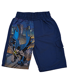 Kuddle Kids Cartoon Print Shorts - Blue