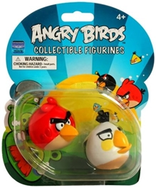 Angry Birds -  Red And White Figurines