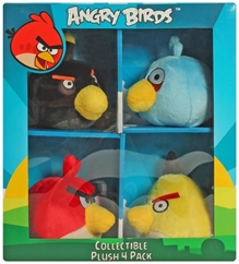 Angry Birds - Collectible Plush toys