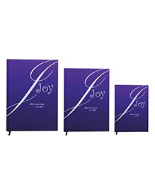 Tiara Diaries Joy New Designer Lakarta Notebook Purple- Set Of 3
