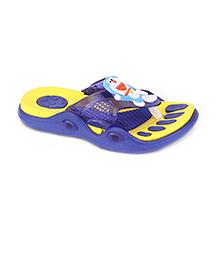 Doraemon Flip Flops - Yellow Blue