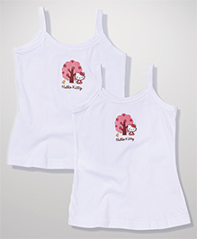 Hello Kitty Singlet Slip - White