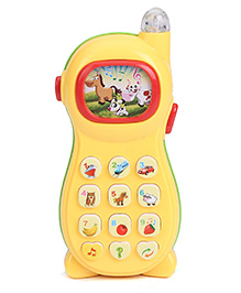 Smiles Creation Musical Phone Toy - Yellow