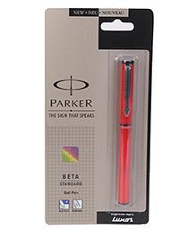 Parker Beta Standard Ball Pen - Red