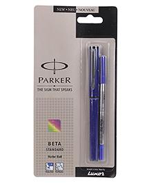 Parker Beta Standard Roller Ball Pen - Blue