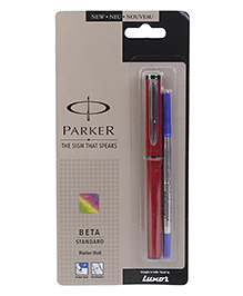 Parker Beta Standard RB Pen - Red
