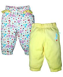 FS Mini Klub Leggings Pack of 2 - Yellow White