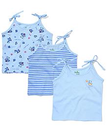Babyhug Shoulder Tie-Up Jhablas - Blue
