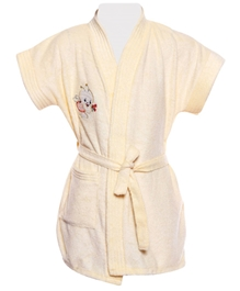 Unlisted Plus Cute Printed Bath Robe
