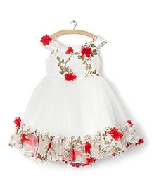 Whitehenz ClothingRossette Tutu Dress - White