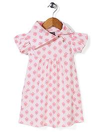 Kate Quinn Floral Print Dress - Pink