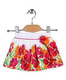 Vitamins Skirt Floral Print - Multi Color