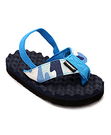 Fresko Baby Shoes With Strap - Blue