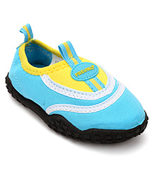 Fresko Attractive Pair Of Shoes - Blue & Yellow