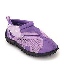Fresko Front Net Style Pair Of Shoes - Purple
