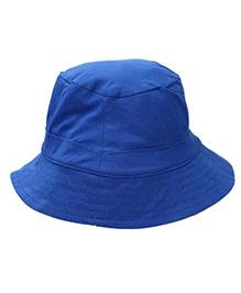 I Play Organic Reversible Bucket Hat - Blue