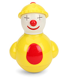 Kumar Toys Rocking Pals Musical Roly Poly Joker - Yellow