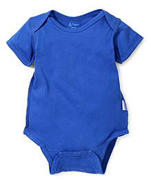 I Play Snap Button Onesie - Blue
