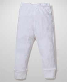 Babyhug Full Length Thermal Leggings - Off White