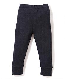 Babyhug Full Length Thermal Leggings - Dark Grey