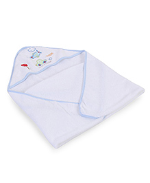 Spasilk Hooded Towel - White