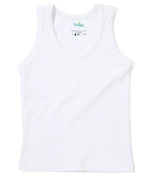 Babyhug Sleeveless Thermal Vest - Off White