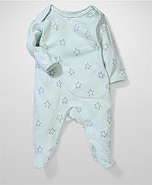 Sterling Baby Star Print Onesie - Blue