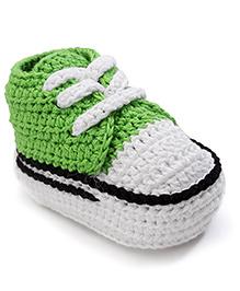 Jefferies Socks Fancy Booties - Green