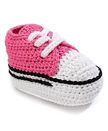 Jefferies Socks Fancy Booties - Pink