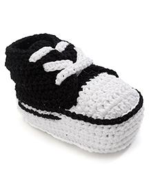 Jefferies Socks Fancy Booties - Black