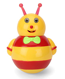 Smart Picks Roly Poly Bee Design - Yellow And Red