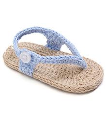 Jefferies Socks Fancy Flip Flops - Blue