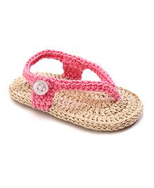 Jefferies Socks Fancy Flip Flops - Pink